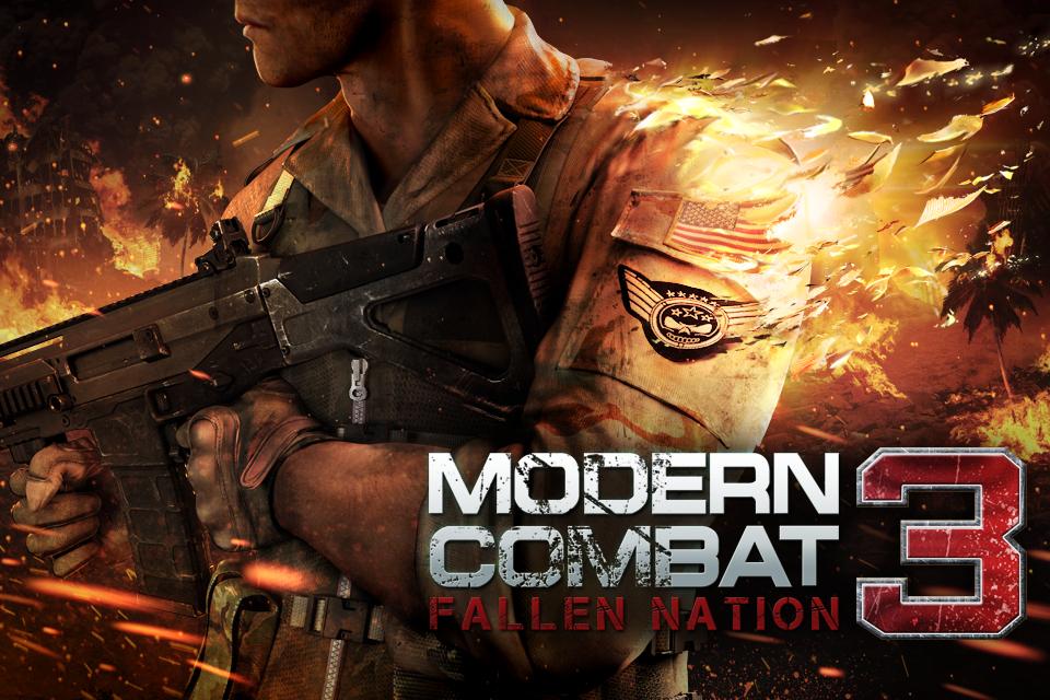 Modern Combat 3 Apk v1.1.3 + Data SD + Mod [dinero ilimitado / Torrent]