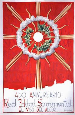 Cartel 450 aniversario de la Hdad. Sacramental