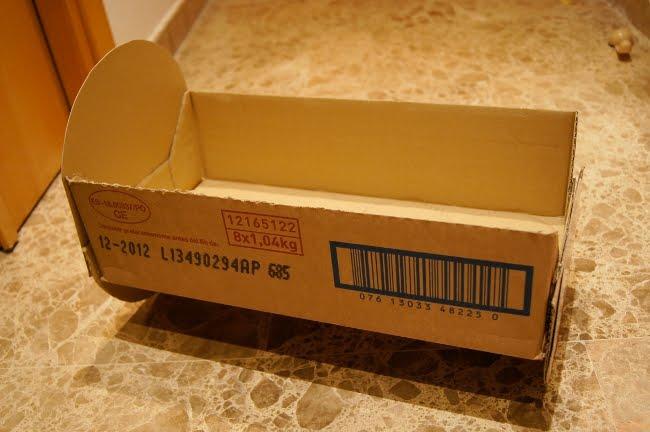Кроватка для пупса из картона своими руками