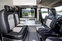Fiat Ducato 4x4 Expedition Camper Show Van (2015) Interior 1