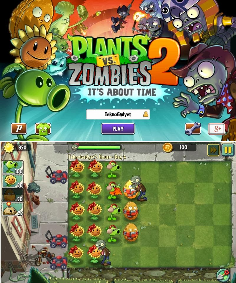 Plants versus Zombies 2