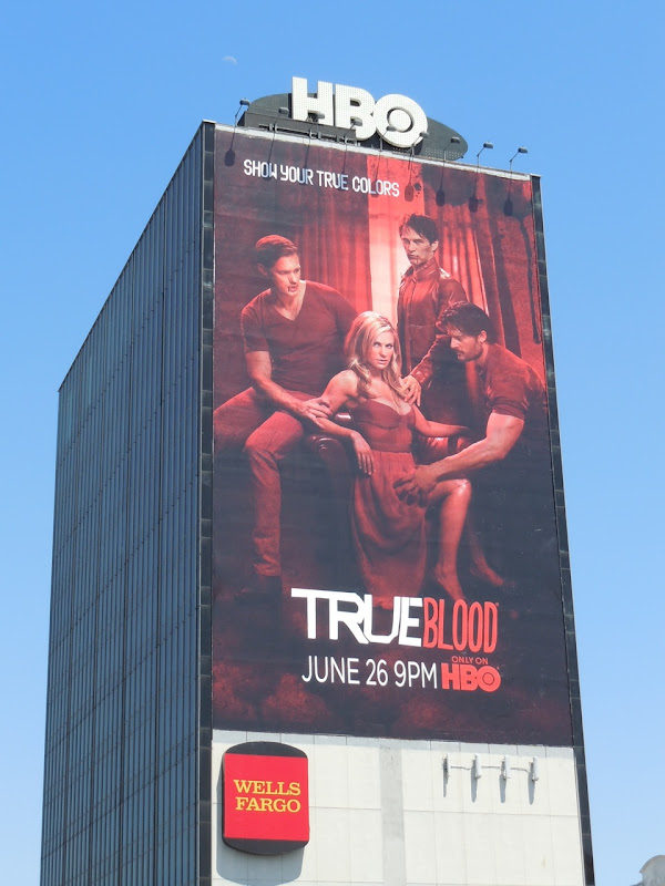 Giant True Blood season 4 billboard