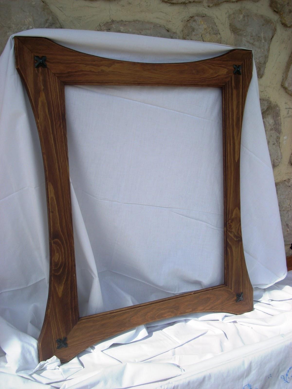 Artesan a con madera marcos y cuadros Marcos de madera cuadros