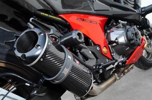 Modifikasi Kawasaki Z800 Full Aksesoris