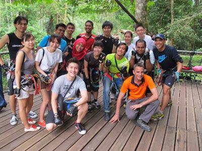 Leave your own track: skytrex @ taman botani negara, shah alam