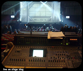 digital mixer Yamaha DM2000 FOH musical Pianeta Proibito