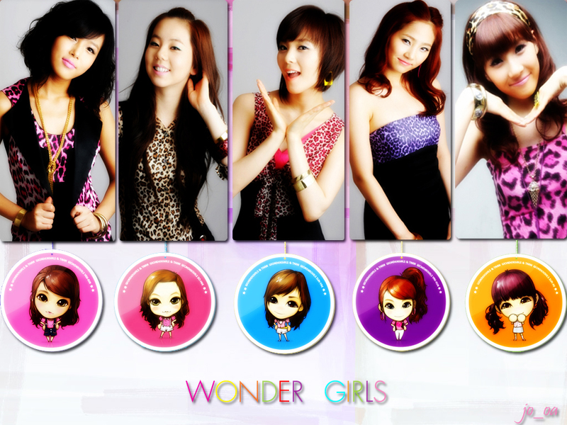 Foto wonder girls terbaru sangat cocok dengan foto wonder girls