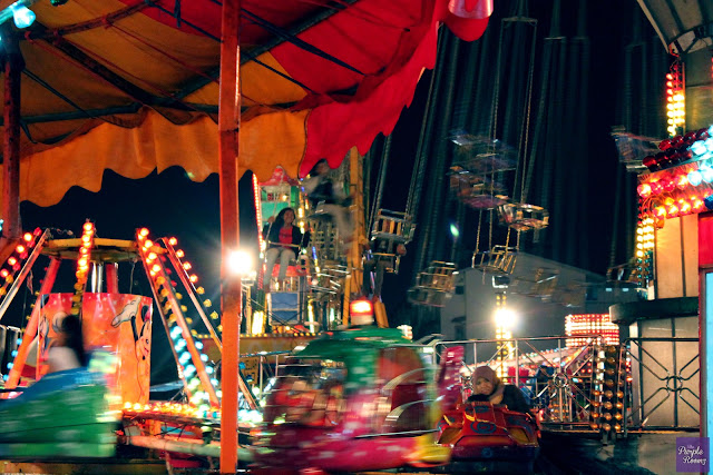 Fun Fair at Night