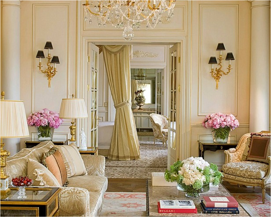 Let 39 s decorate online french style the art of elegance for French chic living room