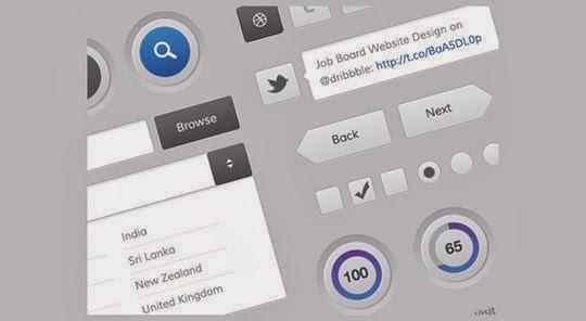 Mobile and Web UI Kit