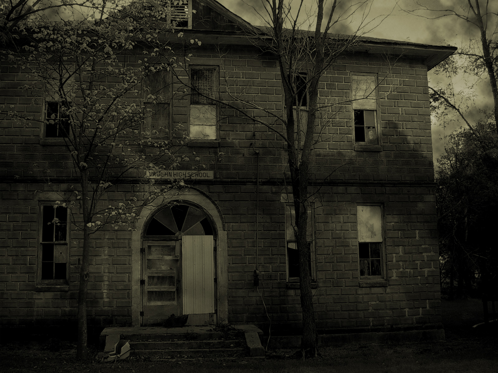 haunted house wallpaper - photo #22