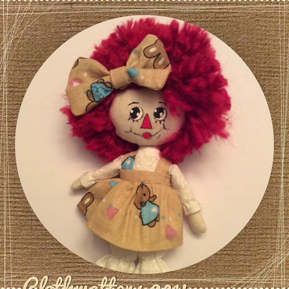 7-inch Little Raggedy Annie