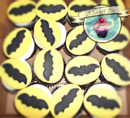 Alex's Batman Cupcakes