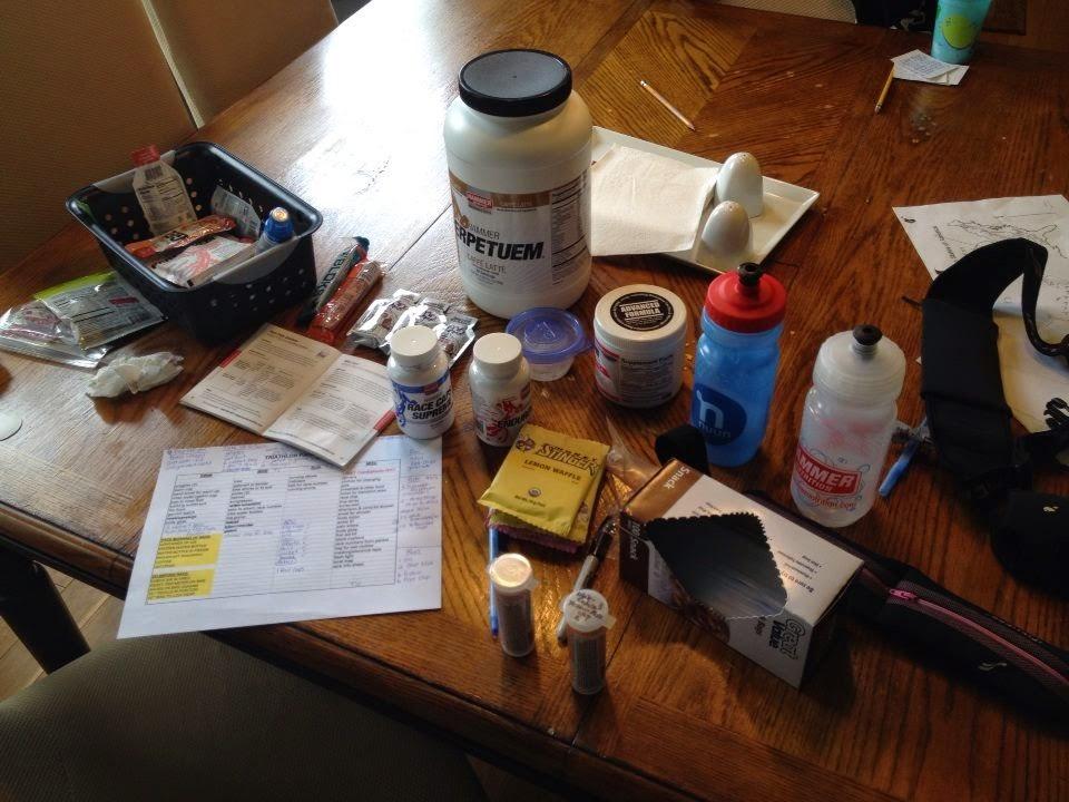 Half Ironman nutrition