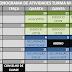 CRONOGRAMA DE ATIVIDADES - Final do Semestre