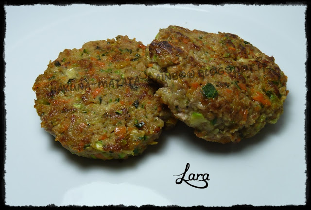 hamburger con verdure