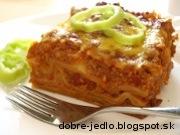 Mexické lasagne - recept