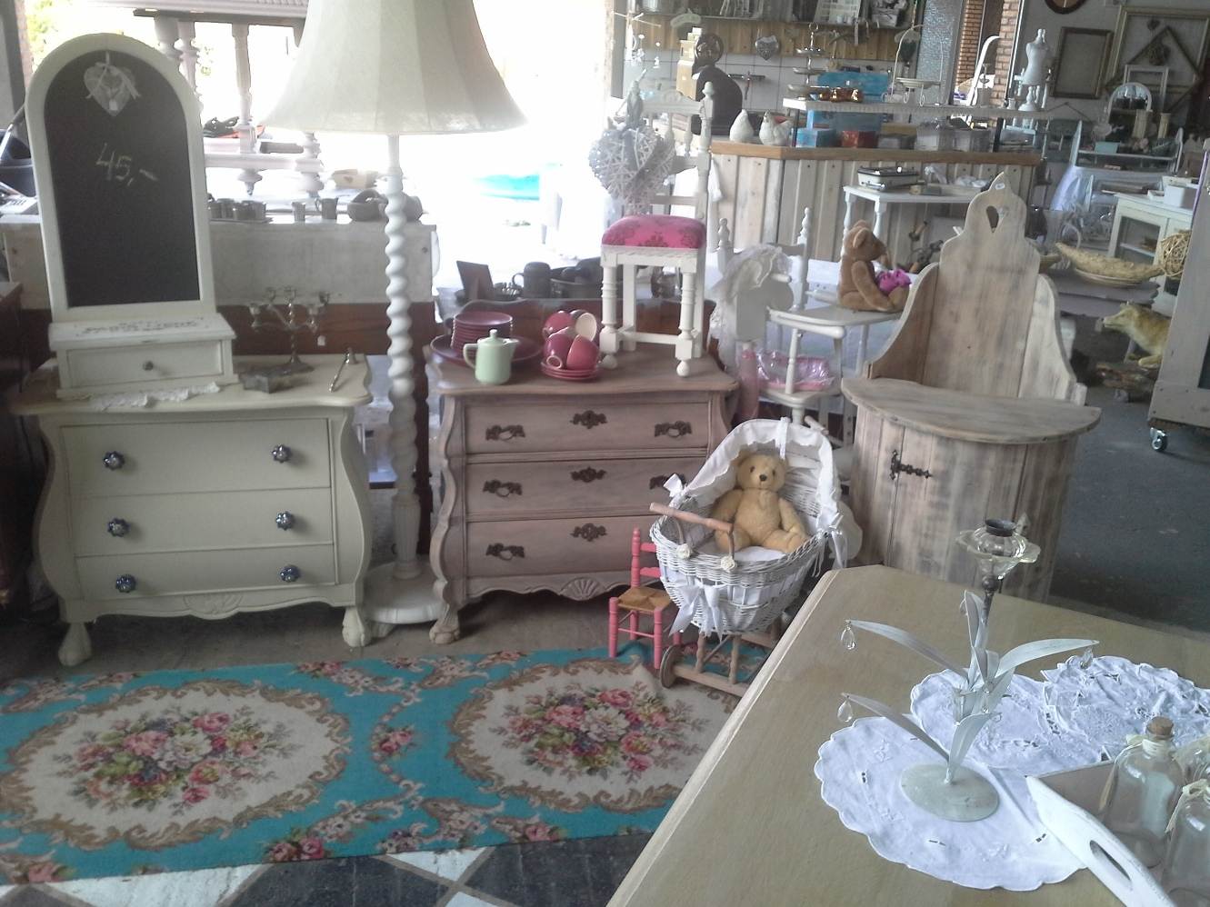 shabby chic brocante On shabby chic laden
