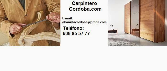 CARPINTERO CORDOBA 639 85 57 77