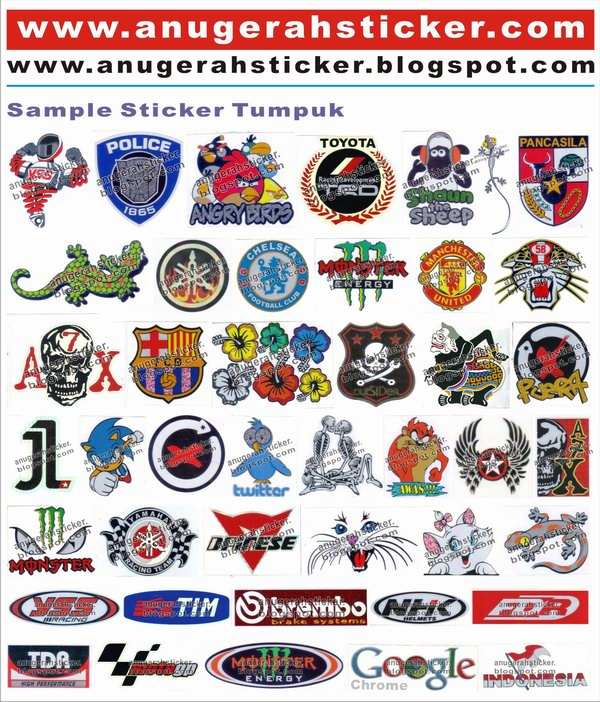 Contoh Sticker ~ STR PRODUCTION :: Pusat Bahan Cutting Sticker