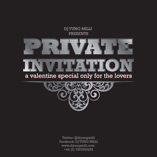 private invitation by dj yung milli funmi ogunja