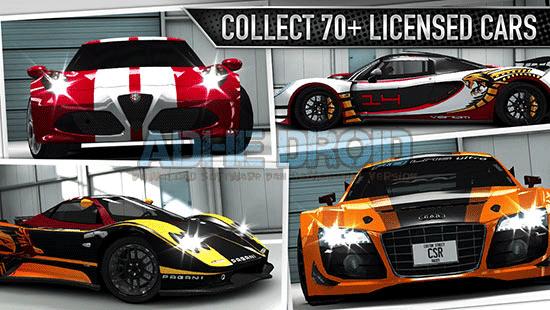 Download game CSR Racing V3.1.0 Apk + Mod + Data Terbaru