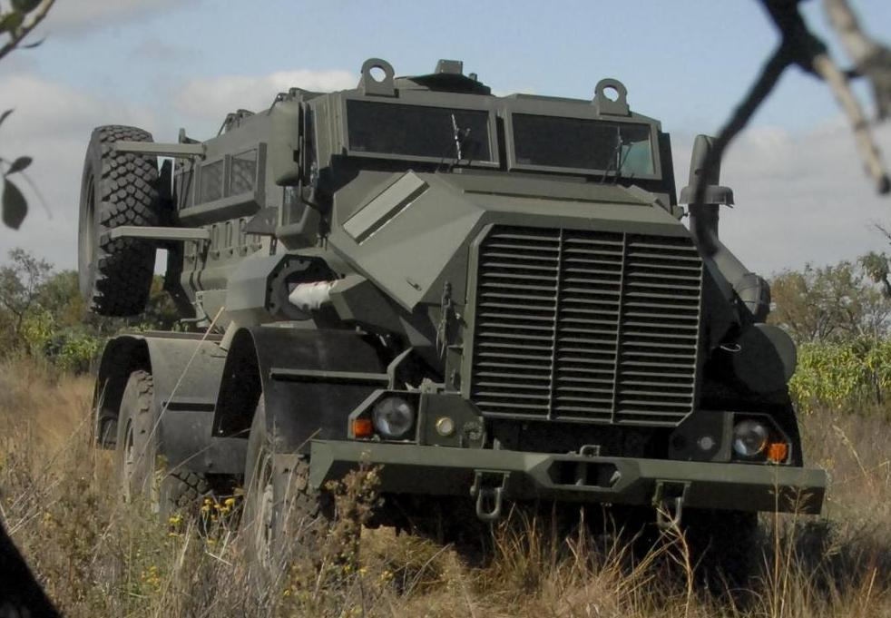 Mine Protected Vehicle India Mpvi Bharat Military Review