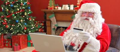 Even Santa shops online!