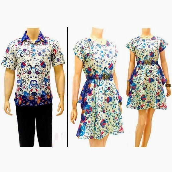 Sarimbit Dress Chibi Gentong Biru