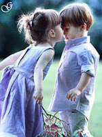 Girl Kissing boy pictures of babies images