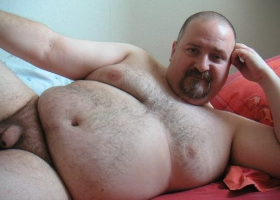cuddletime Chubby Bear with Soft Uncut Cock