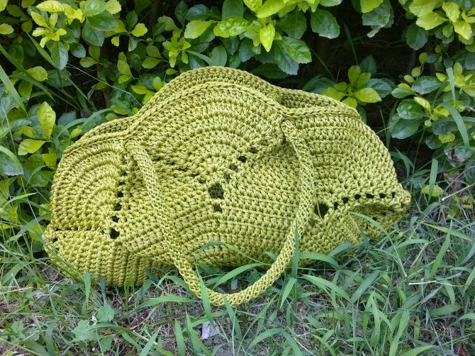 El rincon de las Manualidades de Siry*: Bolso en crochet