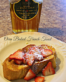 Oven Baked French Toast from Jenn's Random Scraps