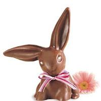 Schokoladenhase aus Vollmilchschokolade