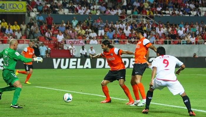 Sevilla vs Malaga en vivo