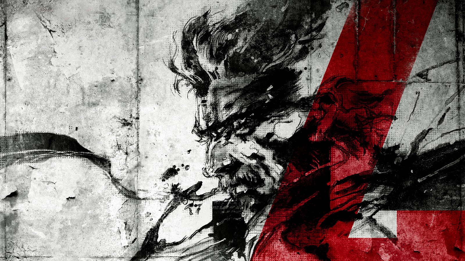 metal gear solid 4 art Metal Gear Solid 4: Guns of the Patriots Wallpapers in HD