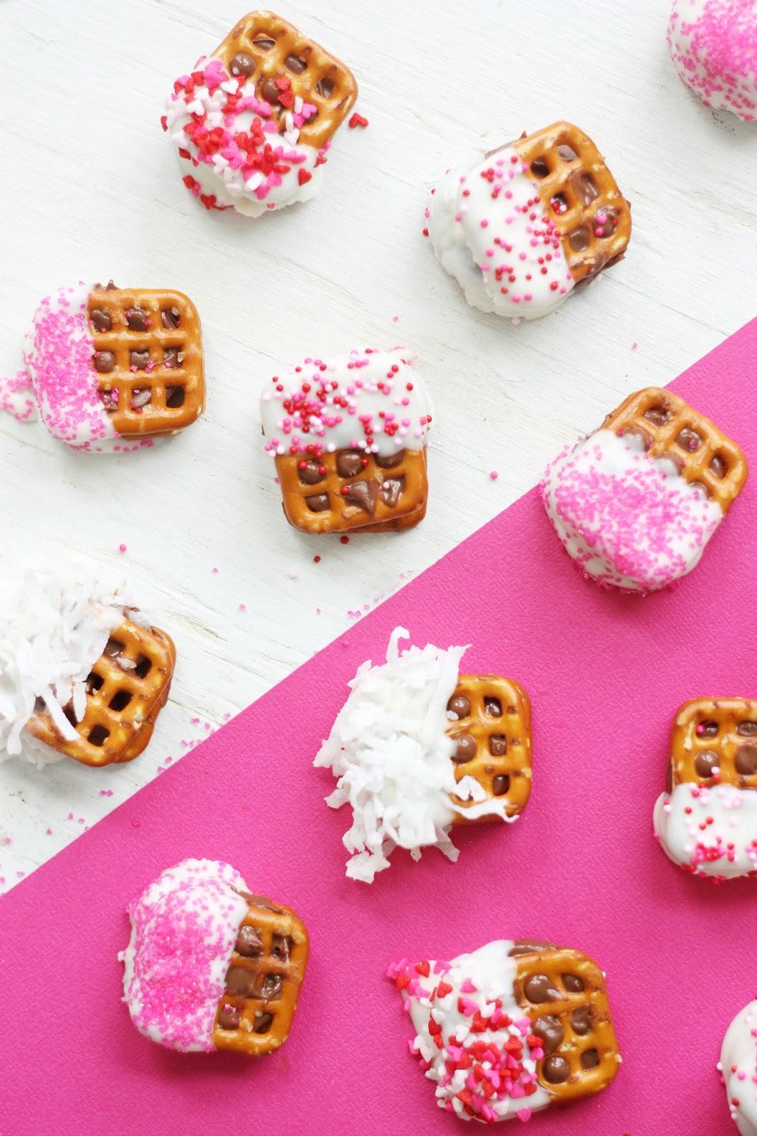 The Pretty Life Girls PLG Cooks Valentine Dipped Pretzel