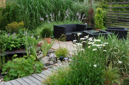Дизайн сада на малых пространствах