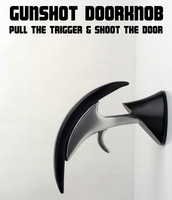Gunshot Door Knobs for Gun users | Spicytec