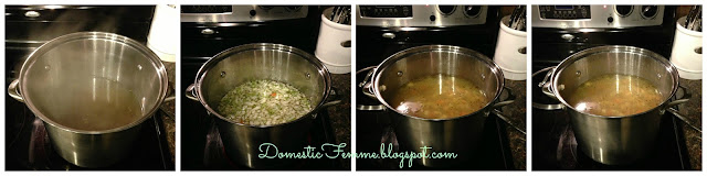 Easy Chicken Noodle Soup Recipe by Domestic Femme