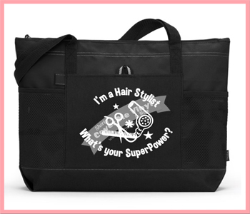I'm A Hair Stylist Superpower Tote