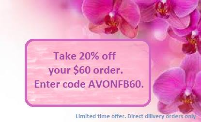 Avon 20% discount code June 2015
