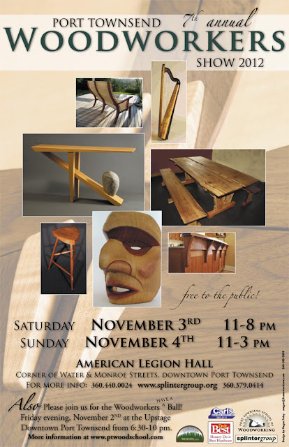 2012 Woodworker's Show Poster