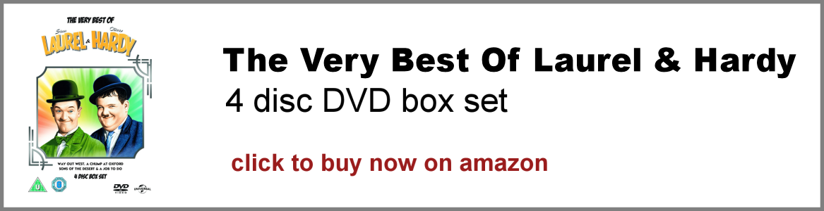 The Very Best Of Laurel and Hardy DVD box set