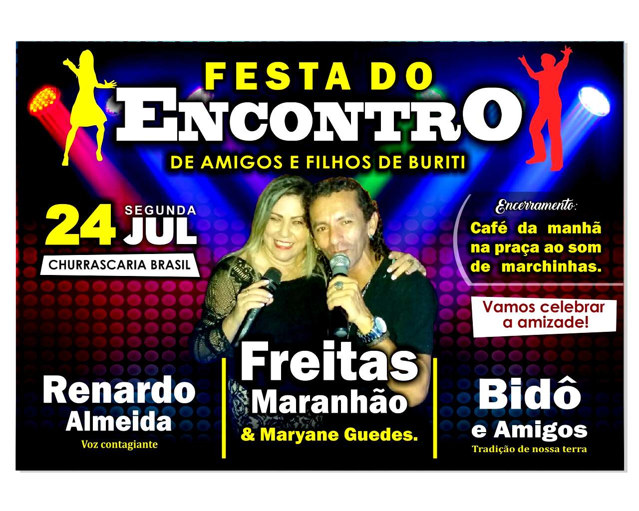 Shows do Festejo 2017