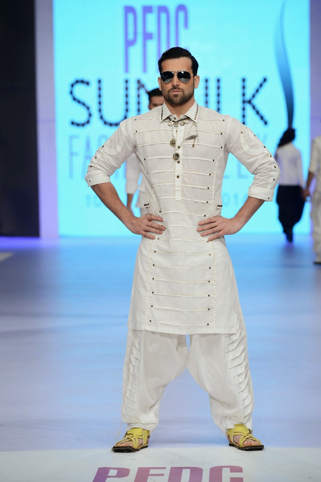 Arsalan Iqbal PSFW 2014 - PFDC Sunsilk Fashion Week