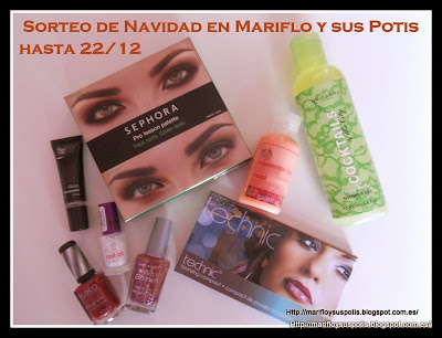 Sorteo de Navidad en Mariflo y sus Potis
