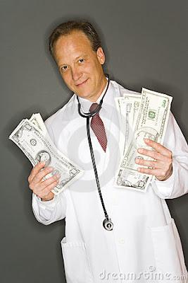 corrupt healthcare