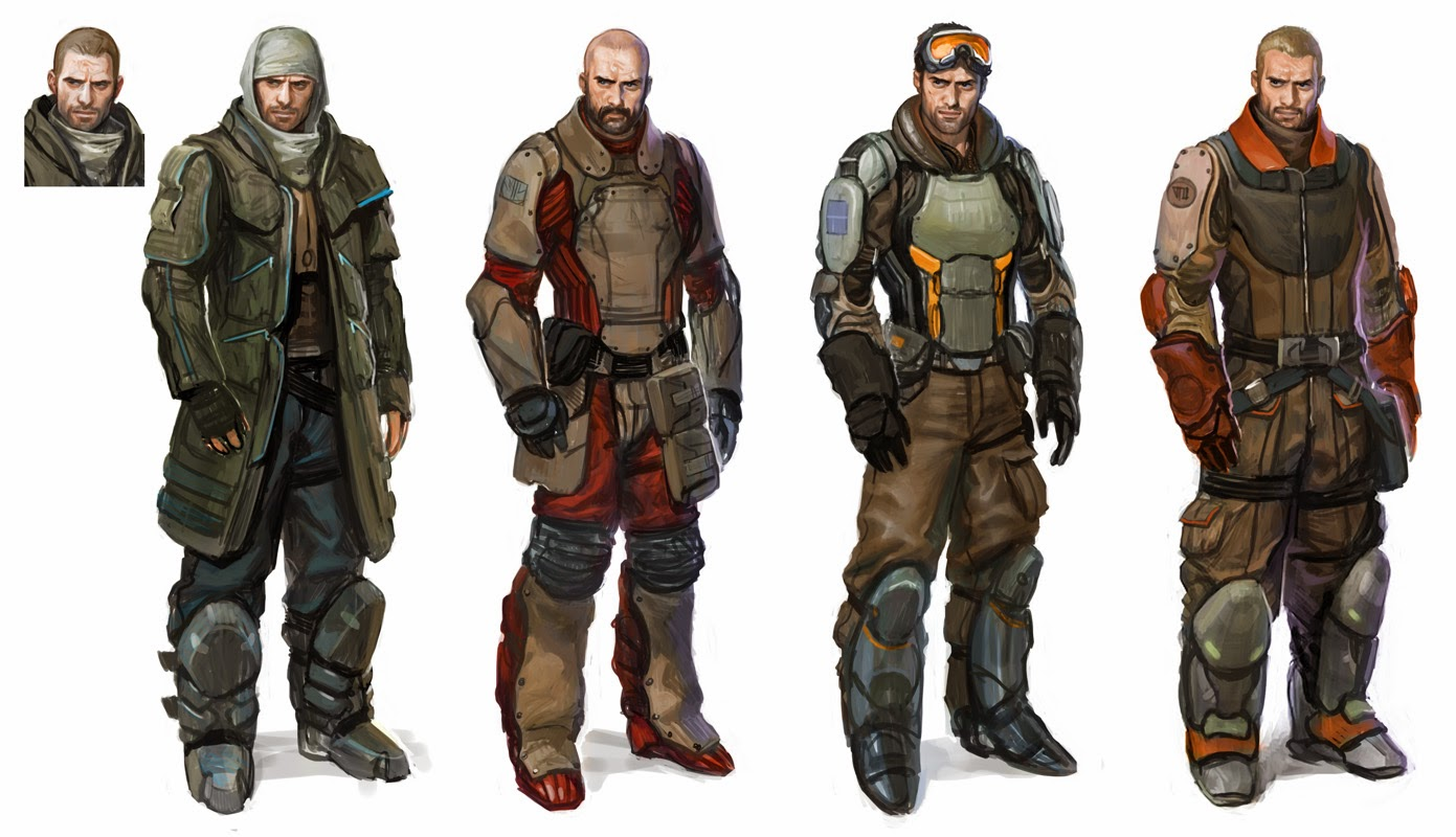 Gnomon Character Concept Design : Gnomon school of visual effects advanced character design