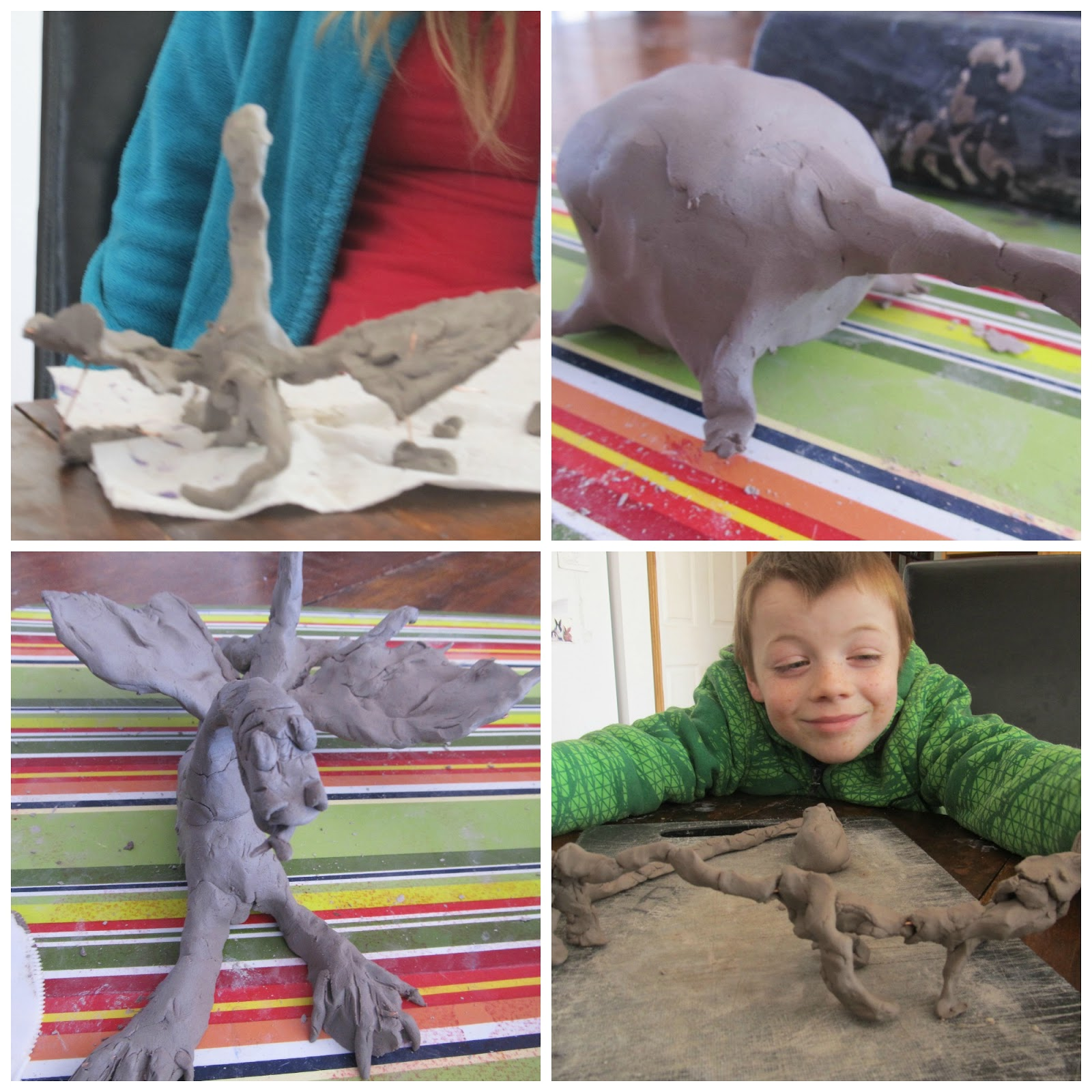 clay dragon tutorial for kids